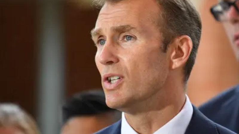 ▲ NSW Planning minister Rob Stokes said the government is making changes to the planning system to keep construction jobs during the coronavirus crisis.