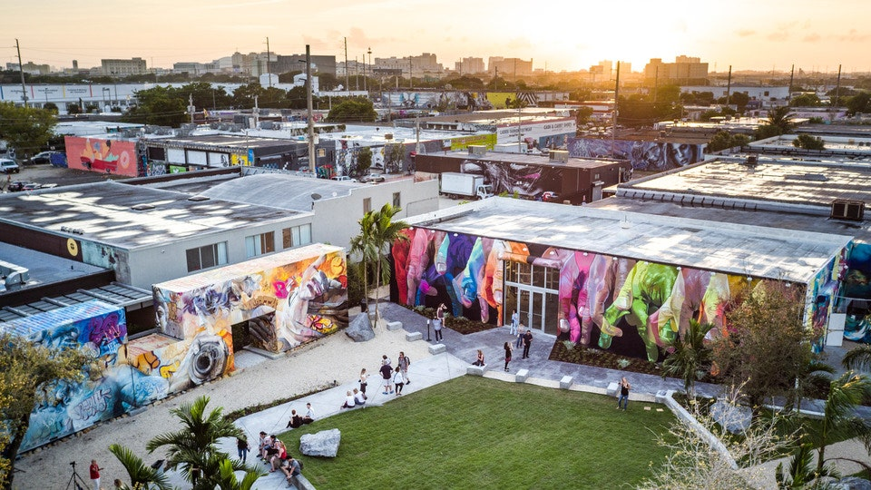 ▲ Yeronga's Paint Factory project draws inspiration fromother developments and collectives that have re-imagined and energised redundant land uses, such as Miami's Wynwood Walls. Image: WIll Graham