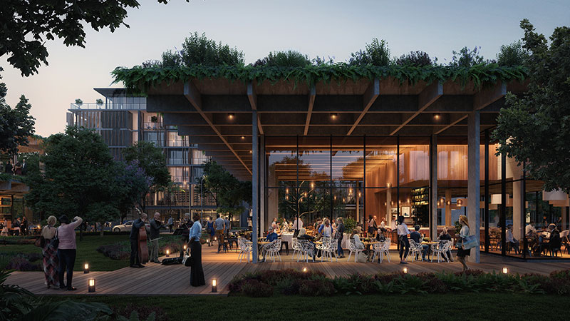 ▲ Sekisui House's plans for a 220-room hotel and 740 dwellings at Yaroomba Beach on the Sunshine Coast.