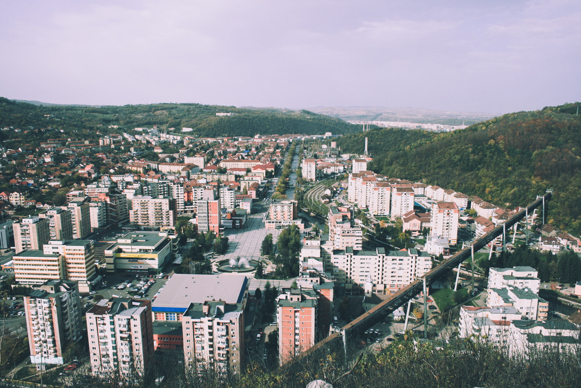 Stanescu's hometown of Resita in Romania