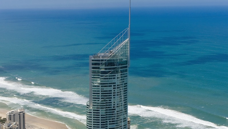▲Q1 on the Gold Coast has a similar crown.