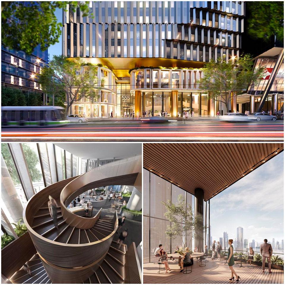 555 Collins Street MELBOURNE Charter Hall development project