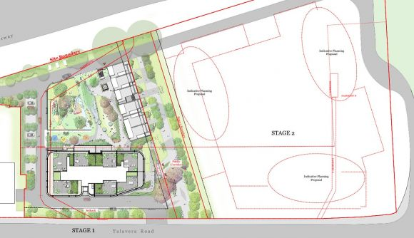 Image of Meriton's stage one proposal.