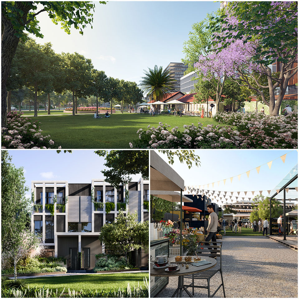 ▲ Many of the new open spaces have been designed to provide a blank canvas for an ever-changing curated calendar of community-focussed events. Image: Supplied