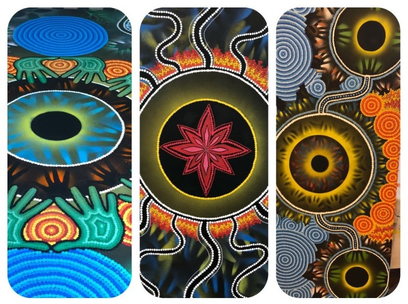 Donovan's three pieces for Suncorp will feature in Brisbane, Melbourne and Sydney. Donovan is a Kuku-Yalanji (Western Yalanji) and Gumbaynngirr Man from the First Nations of far north Queensland and the mid north coast of New South Wales.