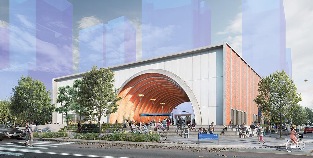 North Melbourne entrance