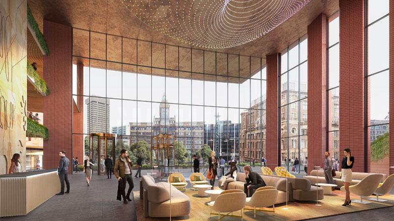 Dexus Frasers Central Sydney Development Interior