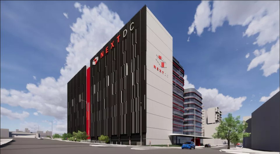Artist impressions of NextDC $195 million data centre in Perth by Hames Sharley Architects