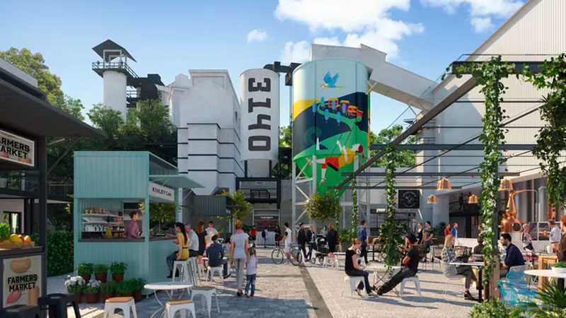 ▲ A vision of the future for the new neighbourhood of Kinley by Intrapac Property