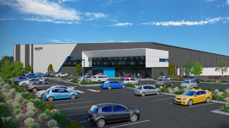 ▲ The new fulfilment centre will be 37,00sq m—almost double the size of the Melbourne Cricket Ground.