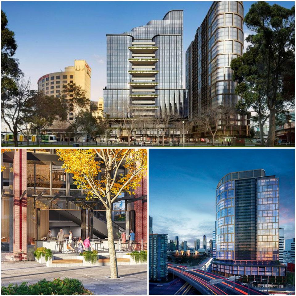 Mirvac The Civic Melbourne development Spencer Street