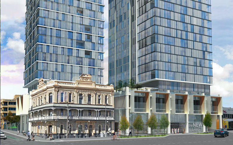 One North Terrace  Adelaide development project