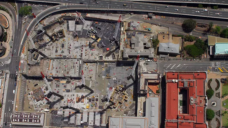 ▲ When complete the project will cover a massive 27.3 hectares—about 20 per cent—of Brisbane's CBD. Image: Supplied
