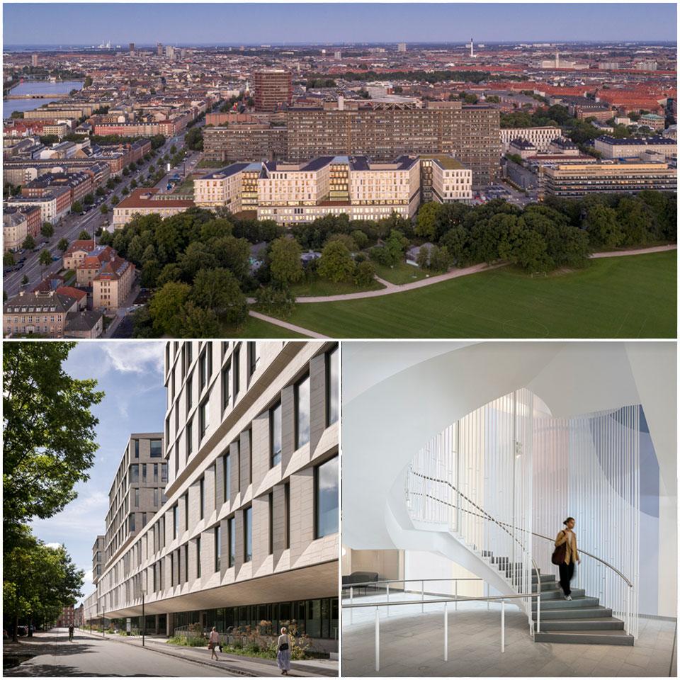 Rigshospitalet Hospital North Wing / LINK arkitektur + 3XN