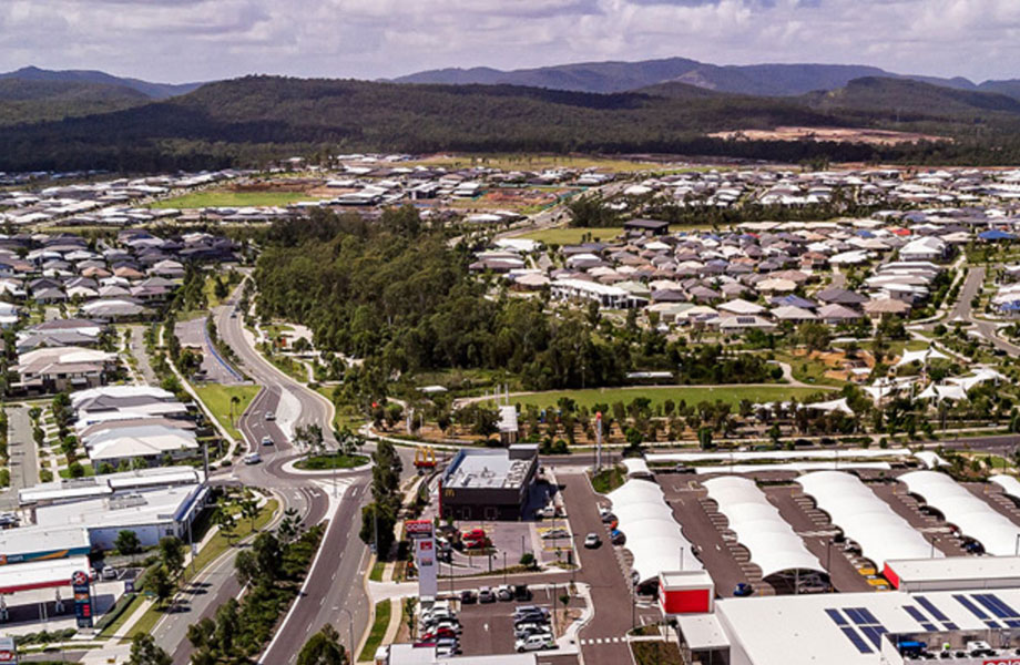 Yarrabilba, developed by Lendlease, was declared as a Priority Development Area in 2010. Most of the 2222 hectare area, located 20 kilometres south of Logan Central, is a former commercial pine plantation.