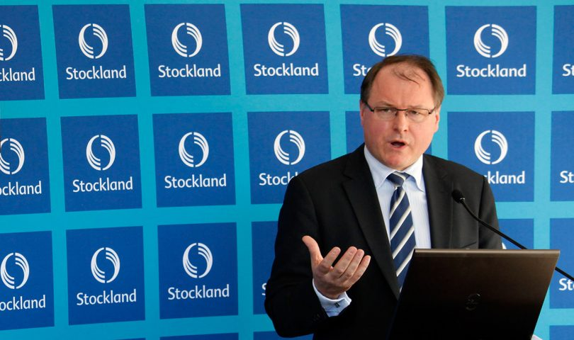 """UBS has maintained its """"sell"""" recommendation for Stockland. Pictured: Mark Steinert."""