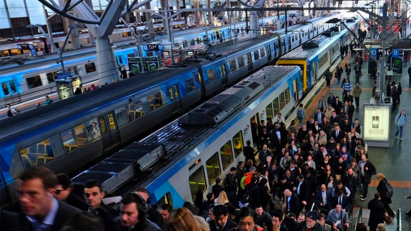"▲ The debate about Australia's population has intensified after the prime minister, Scott Morrison, signalled the government would lower the migration intake in response to growing concerns ""roads are clogged"" and ""the buses and trains are full""."