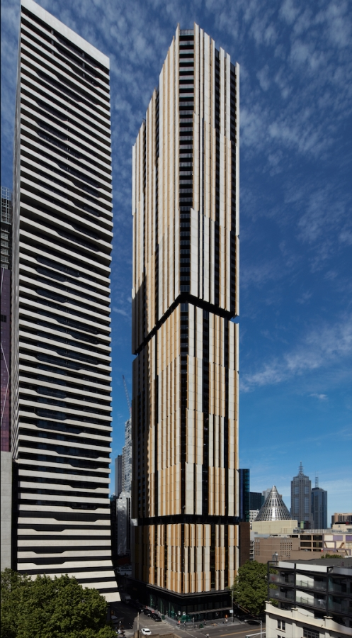 Probuild Victorian Managing Director Luke Stambolis credits the 62-storey tower's speed of completion to the company's innovative construction techniques.