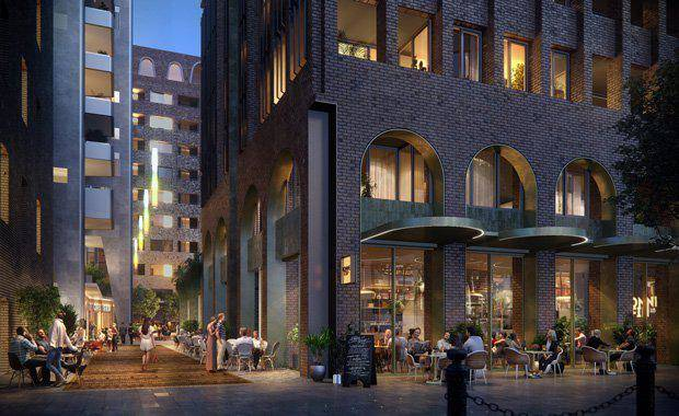 The old David Jones building on Hunter Street will be restored, an existing car park will be demolished for apartments under Iris Capital's $750 million redevelopment of the Hunter Street Mall.