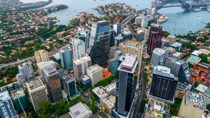 ▲ North Sydney's office vacancy rate, formerly in the double digits, now sits at about 6 per cent with JLL recording 32,500sq m of positive net absorption in North Sydney during the first half 2019.