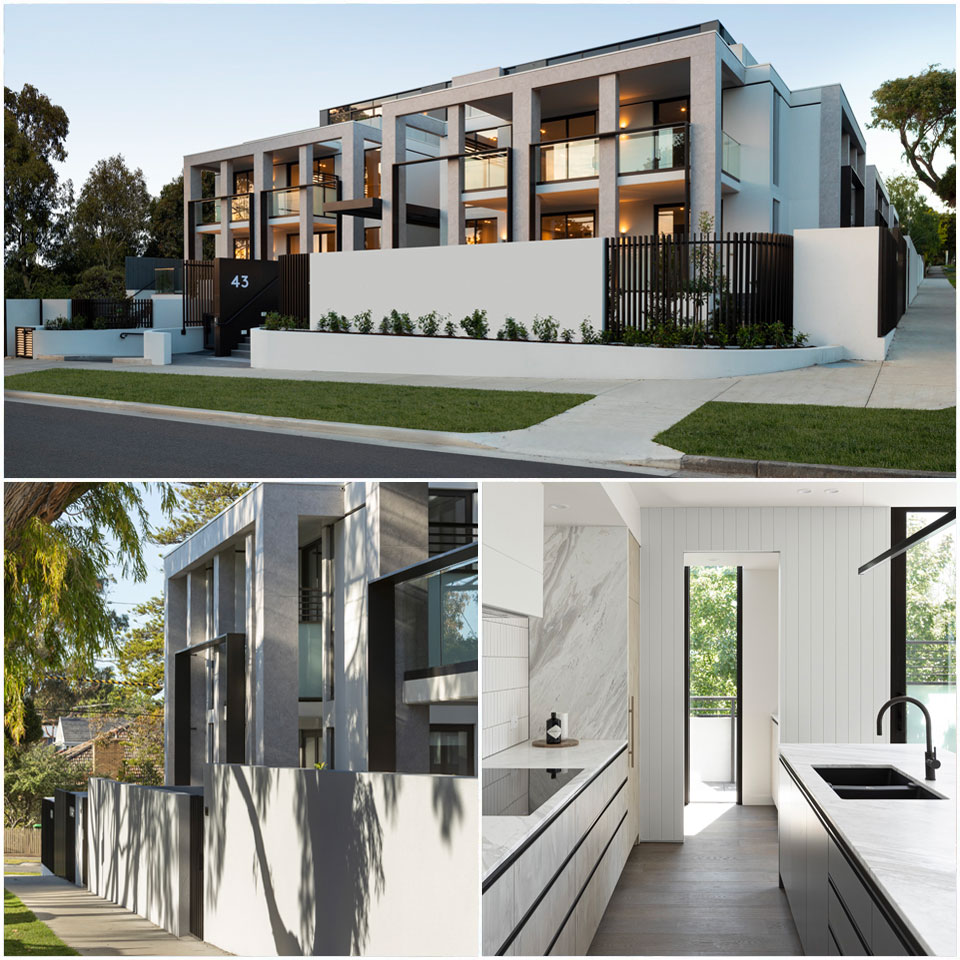 ▲ Samuel Property's Caspian in Melbourne is spearheading the demand for boutique bigger apartments.