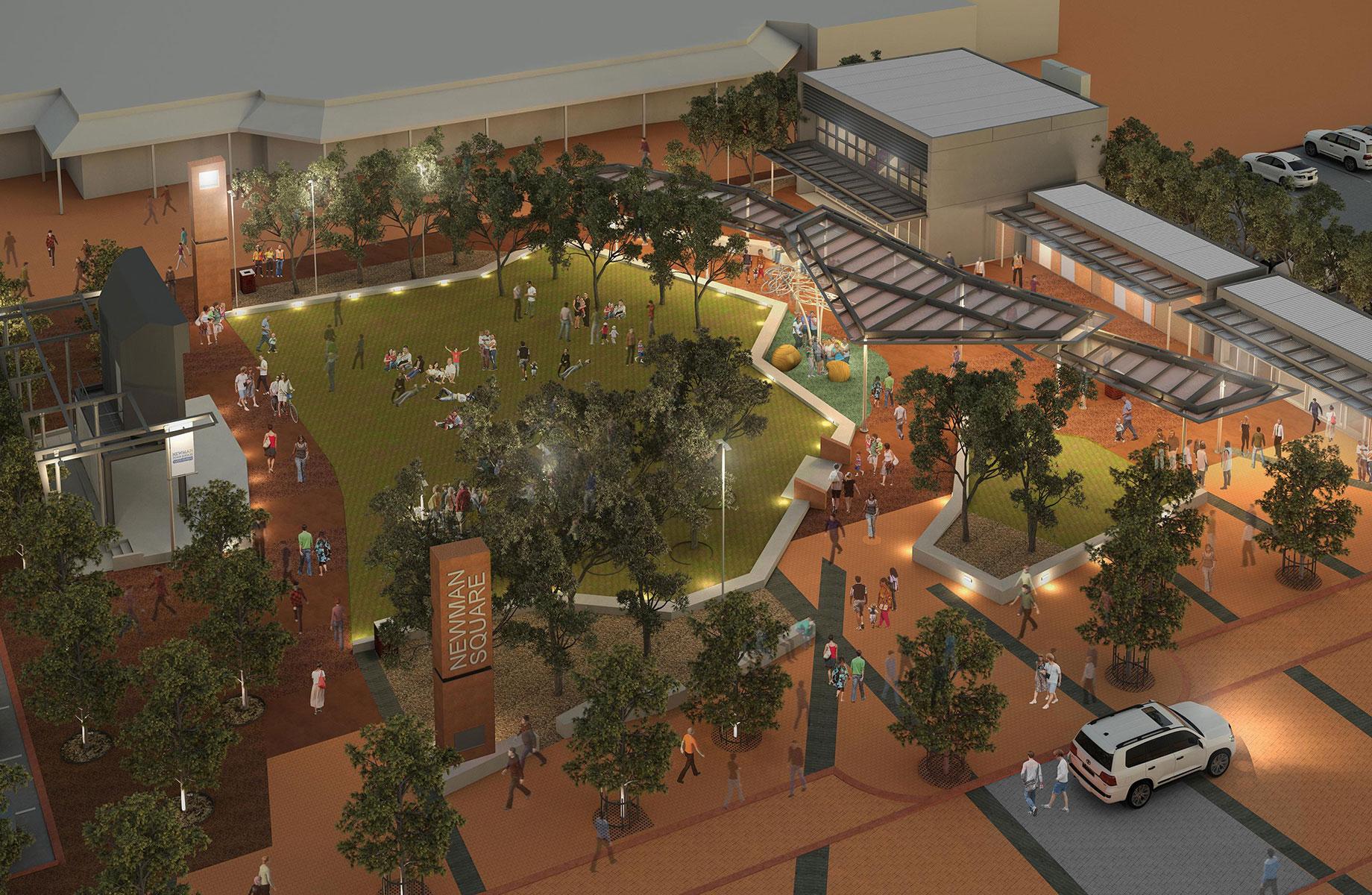 Newman Town Centre (WA) - UDLA