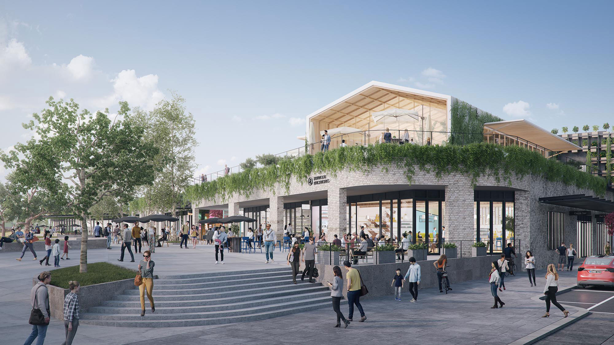 Burwood Brickworks will be the world's most sustainable shopping centre
