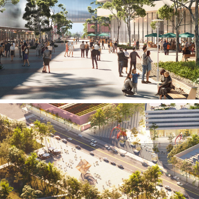 ▲ Sandhurst Retail and Logistics has appointed OMA architects to design its new $100-million Sunbury town centre.